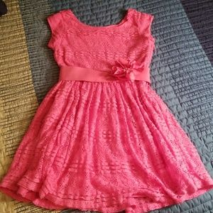 Other - Coral lace dress. Girl's.